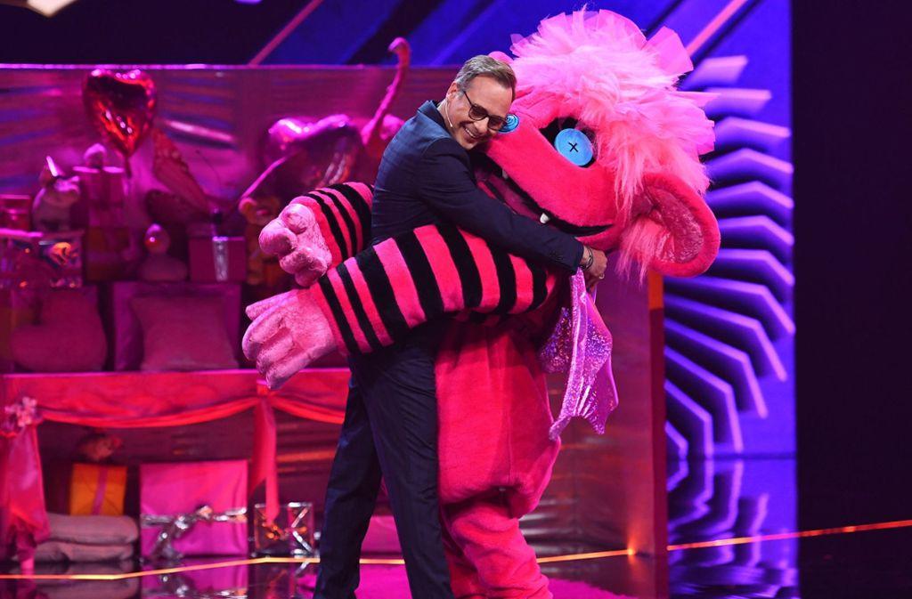 """""""The Masked Singer"""" bei ProSieben avancierte zum echten TV-Sommerhit. Foto: dpa"""