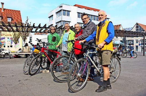 Ein Fahrrad-Taxi für den Bezirk und andere Hoffnungen