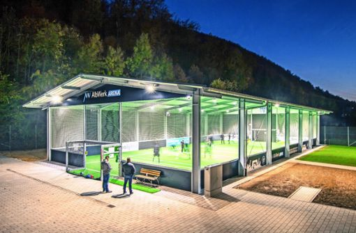Sportverein bekommt ein Dach über dem Kopf