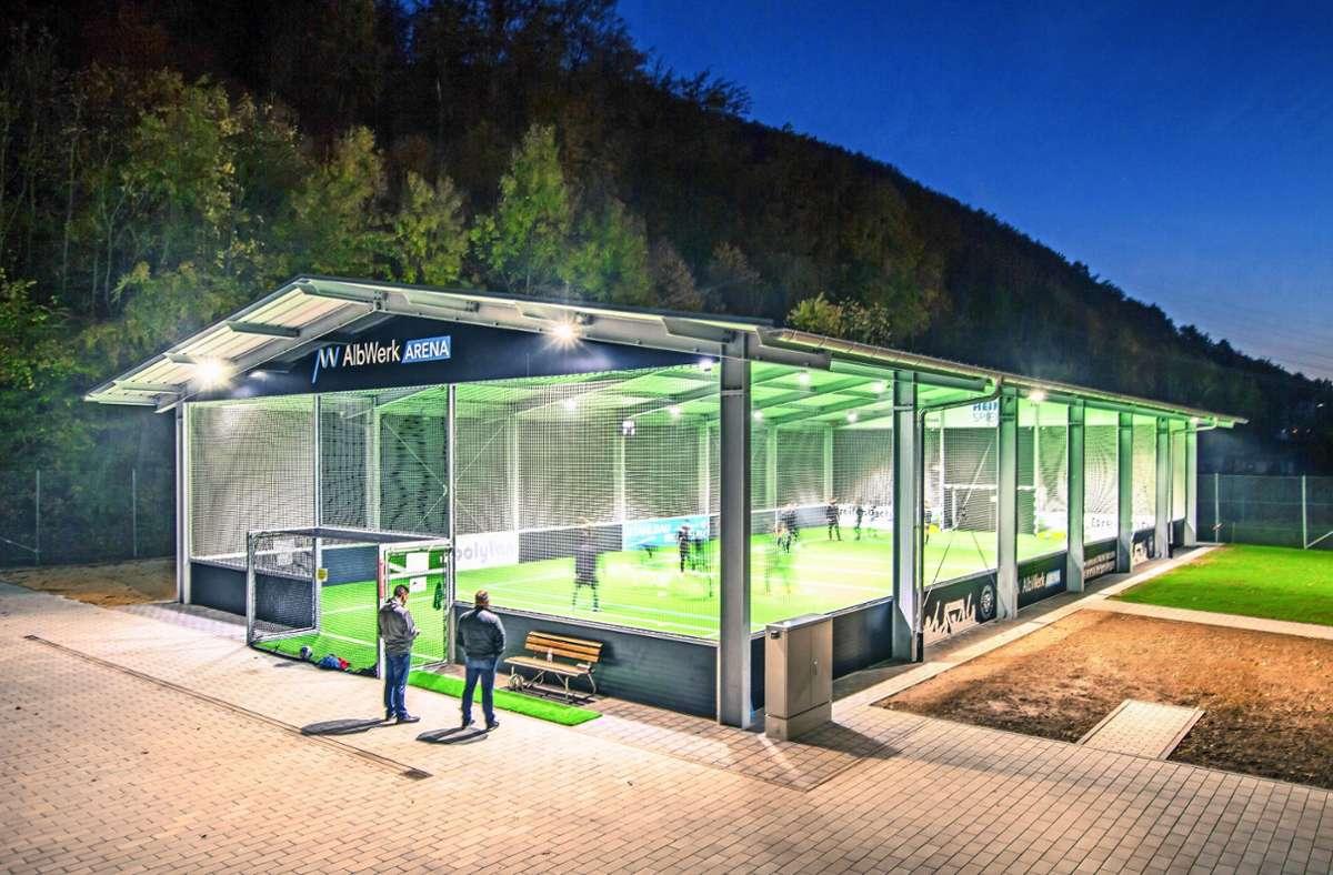 Die McArena GmbH hat schon einige Frischlufthallen gebaut. Das Unternehmen spricht von einer Bauzeit von nur acht bis zehn Wochen. Foto: McArena GmbH