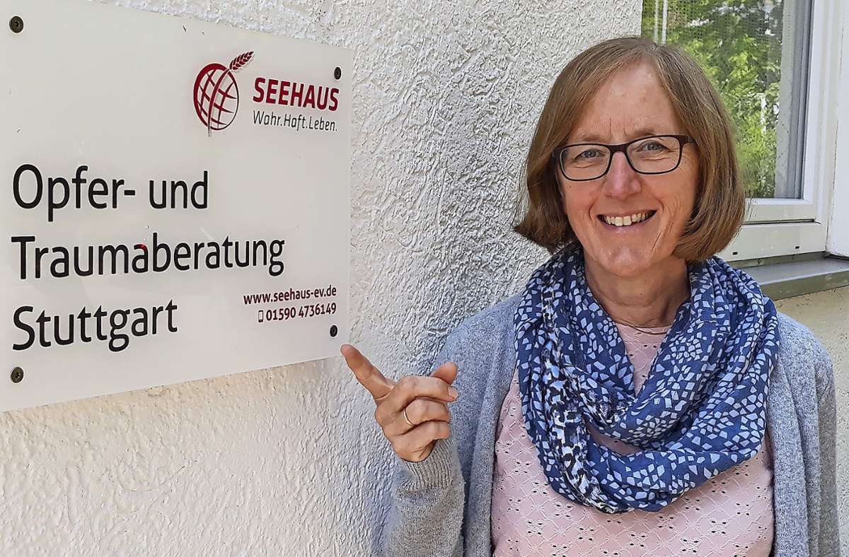 Sabine Abrell ist Teamleiterin der Beratungsstelle. Foto: Bernd Zeyer