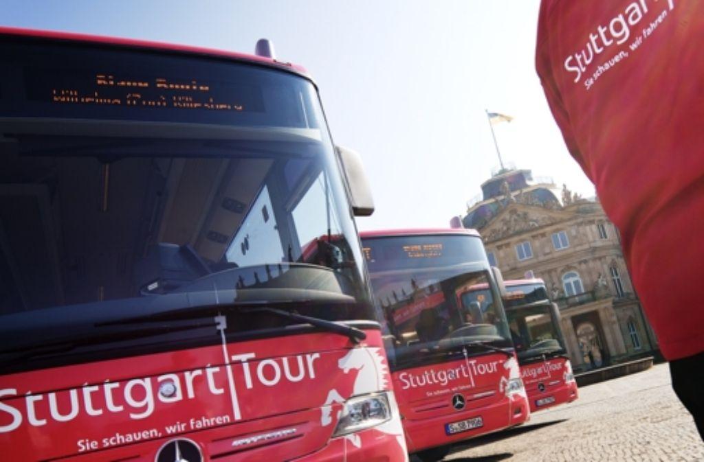 In den Bussen der Stuttgart Foto: Heiss