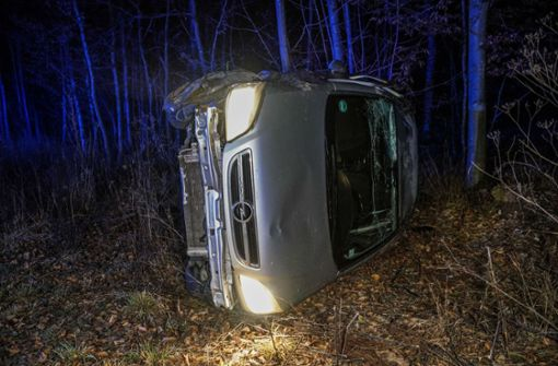 Schwerer Unfall auf Glatteis