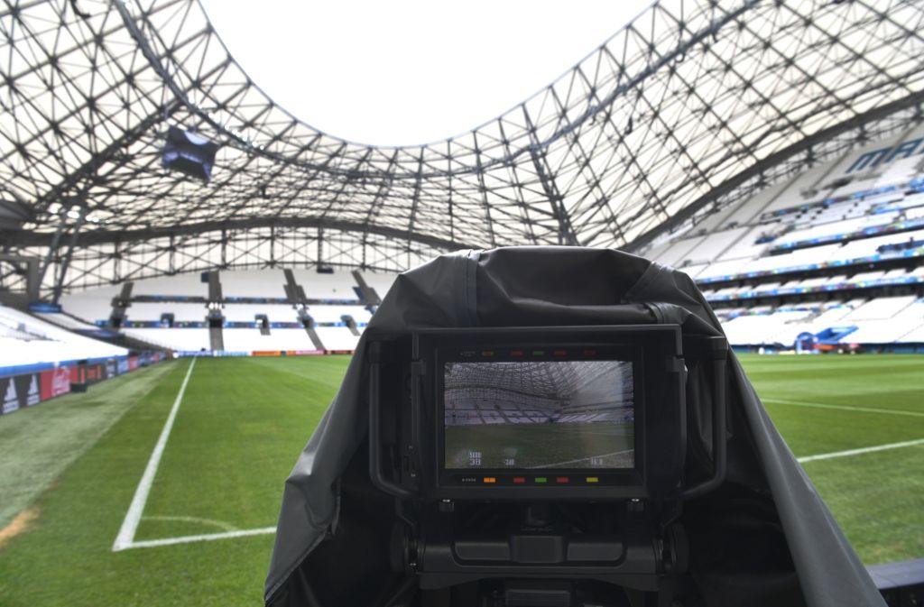 Die EM 2020 wird im öffentlich-rechtlichen Fernsehen ausgestrahlt. (Symbolfoto) Foto: dpa