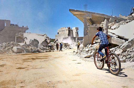 Letzter Aufmarsch gegen die Rebellen in Syrien