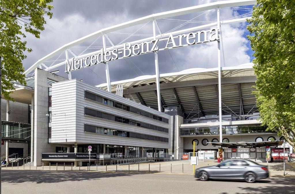 Wer über die Suchmaschine Google nach der Stuttgarter Mercedes-Benz Arena sucht, der findet allerhand lustige Bewertungen – die meisten davon sind aber positiv. Foto: imago images/Arnulf Hettrich