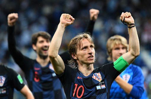 So besiegten die Kroaten Lionel Messi und Co.