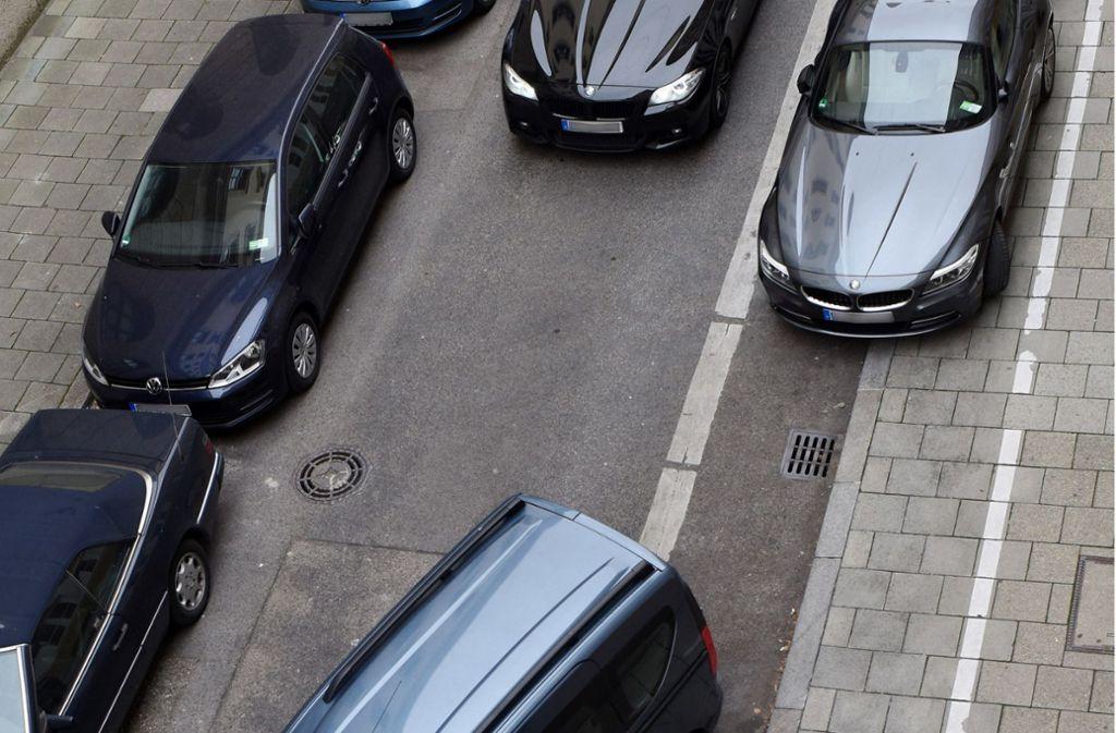 Eine Parklücke in Filderstadt zu finden, ist oft Glückssache. Foto: dpa