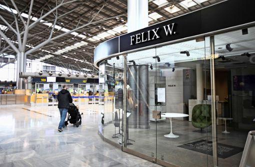 Immer mehr Leerstände am Flughafen
