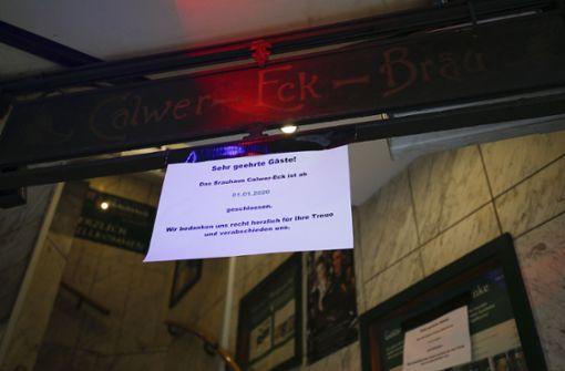 Veganes Restaurant zieht ins alte Calwer Eck-Bräu