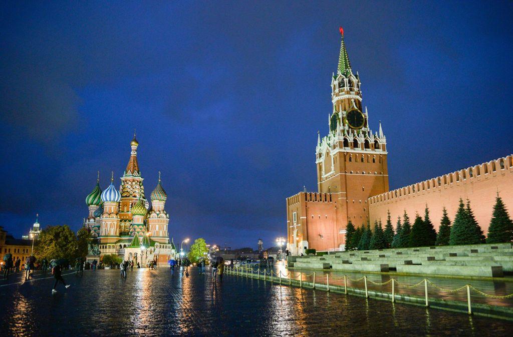 Russland hat britische Diplomaten ausgewiesen Foto: dpa