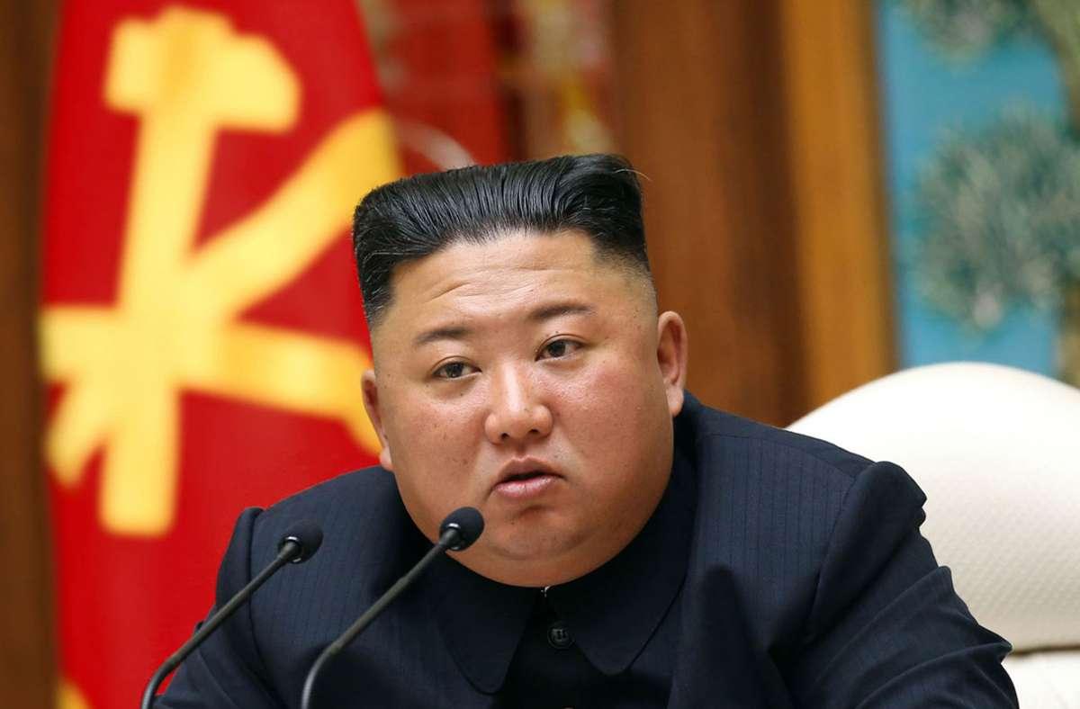 Nordkoreas Machthaber Kim Jong Un fordert mit neuen Kampfansagen den künftigen amerikanischen Präsidenten Joe Biden heraus. (Archivbild) Foto: dpa