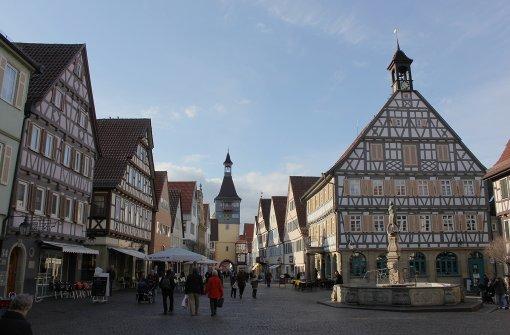Die Altstadt als Weinstube