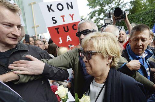 Polen  gefährdet  Europas Einheit