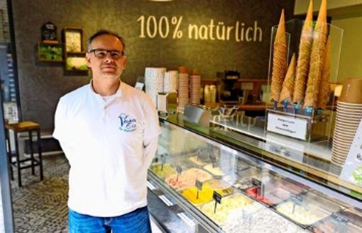 Vana-Eiscafé mit Filiale im Stuttgarter Westen