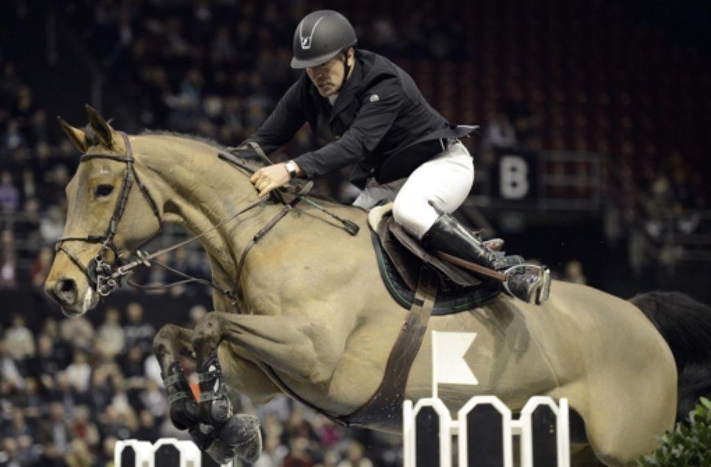 Roger-Yves Bost sattelt nächste Woche in der Stuttgarter Schleyerhalle. Foto: dpa