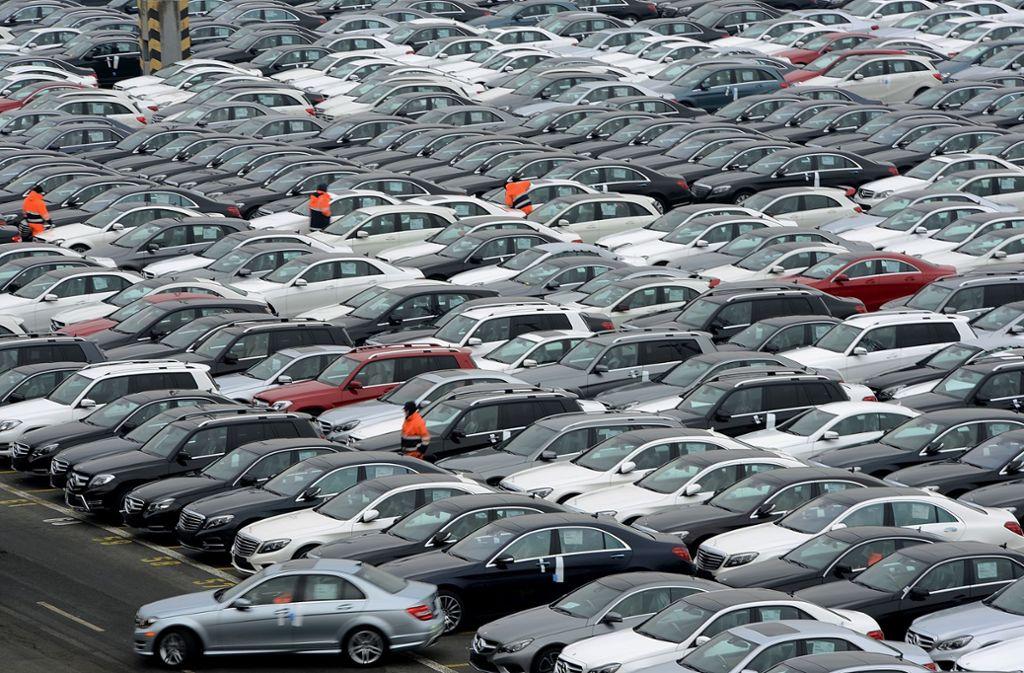 Daimler ruft tausende Fahrzeuge zurück. Foto: Getty Images Europe