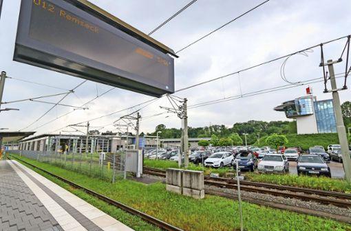 Depot für die SSB, Stadtbahn für Ditzingen
