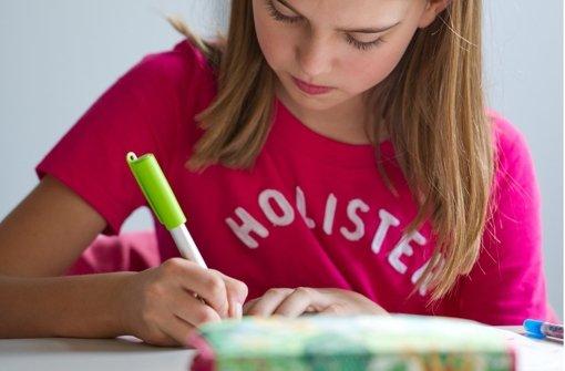 Jeder Schüler lernt auf unterschiedliche Art und Weise. Deswegen lohnt er sich erstmal herauszufinden, welchem Lerntyp das Kind  angehört. Foto: dpa