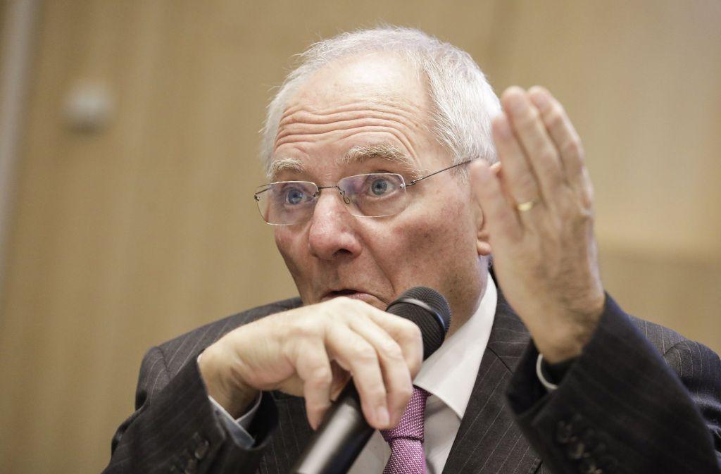 Der Wissenschaftliche Beirat von Finanzminister Wolfgang Schäuble (CDU) stellt eine gestiegene Ungleichheit bei den Einkommen in Deutschland fest. Foto: dpa