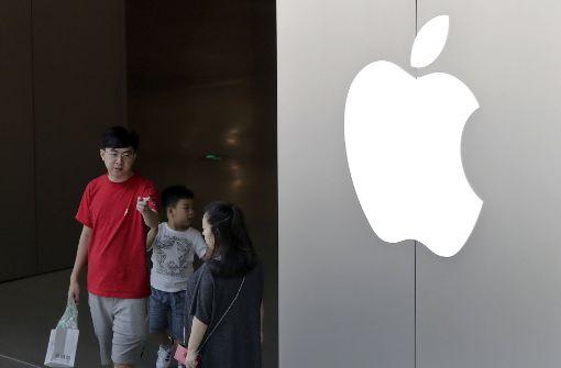 Arbeiter von Apple-Zulieferer protestieren in China