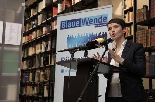 Blaue Partei von Frauke Petry löst sich auf