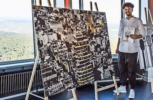 Tim Bengel bekommt für dieses   New-York-Werk      60.000 Euro