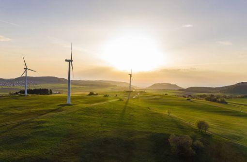 Noch herrscht Flaute bei  der Windkraft