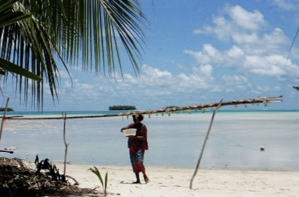 In Tuvalu gibt es Strand, Meer und viel Ruhe. Foto: Horst Rudel/Horst Rudel