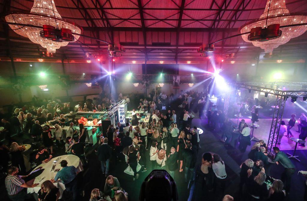 Die Alte Reithalle ist am Samstag Schauplatz der Boa-Party gewesen. Foto: Lichtgut/Christoph Schmidt