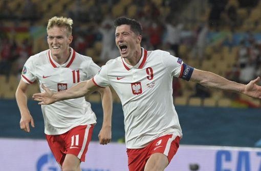 Robert Lewandowski rettet Polen einen Punkt – Spanien enttäuscht