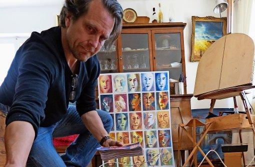 Hermann Bassé muss jeden Tag   malen