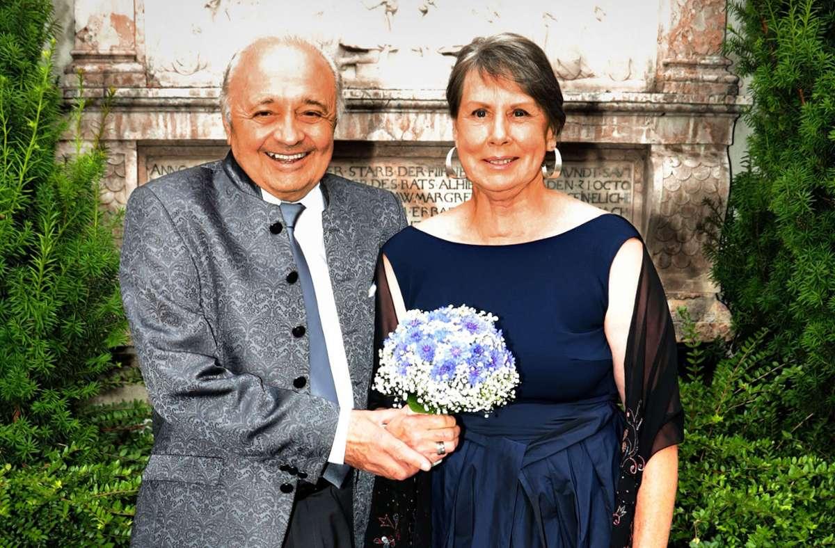Nach 27 Jahren das Ja-Wort: Giorgia Lehn und Foto: Sage