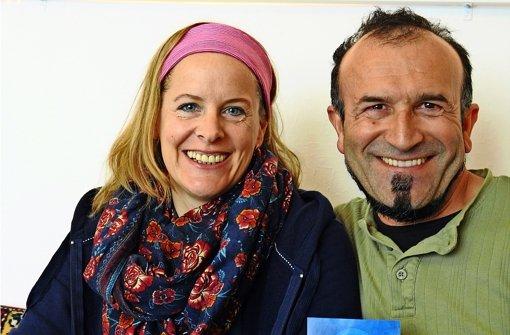 Angelika Müller und Dilaver Gök fühlen sich seelenverwandt Foto: Robin Daniel Frommer