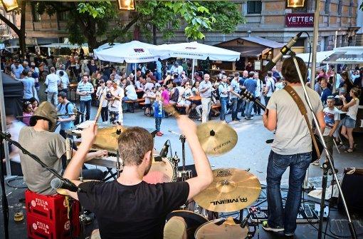 Party, Musik und Kinderprogramm im Heusteigviertel