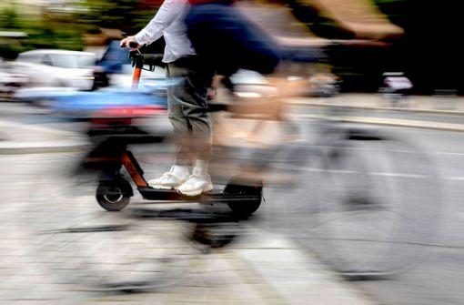 Sind Verleih-Scooter gegen Diebstahl geschützt?