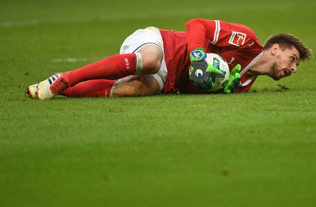 Ron-Robert Zieler glänzt derzeit beim VfB Stuttgart. Foto: dpa