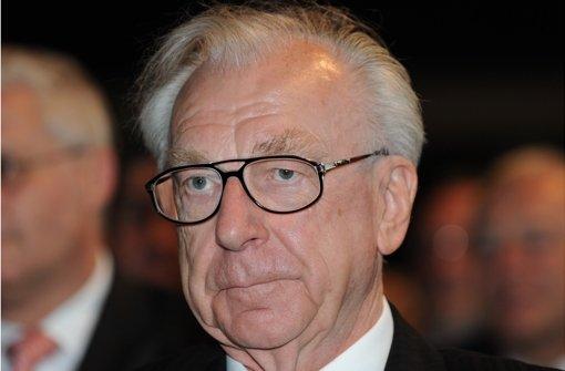 Der frühere Ministerpräsident  Lothar Späth starb im Alter von 78 Jahren. Foto: dpa