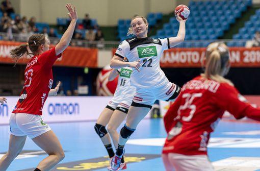 Deutsche Handballerinnen bezwingen Angstgegner Dänemark