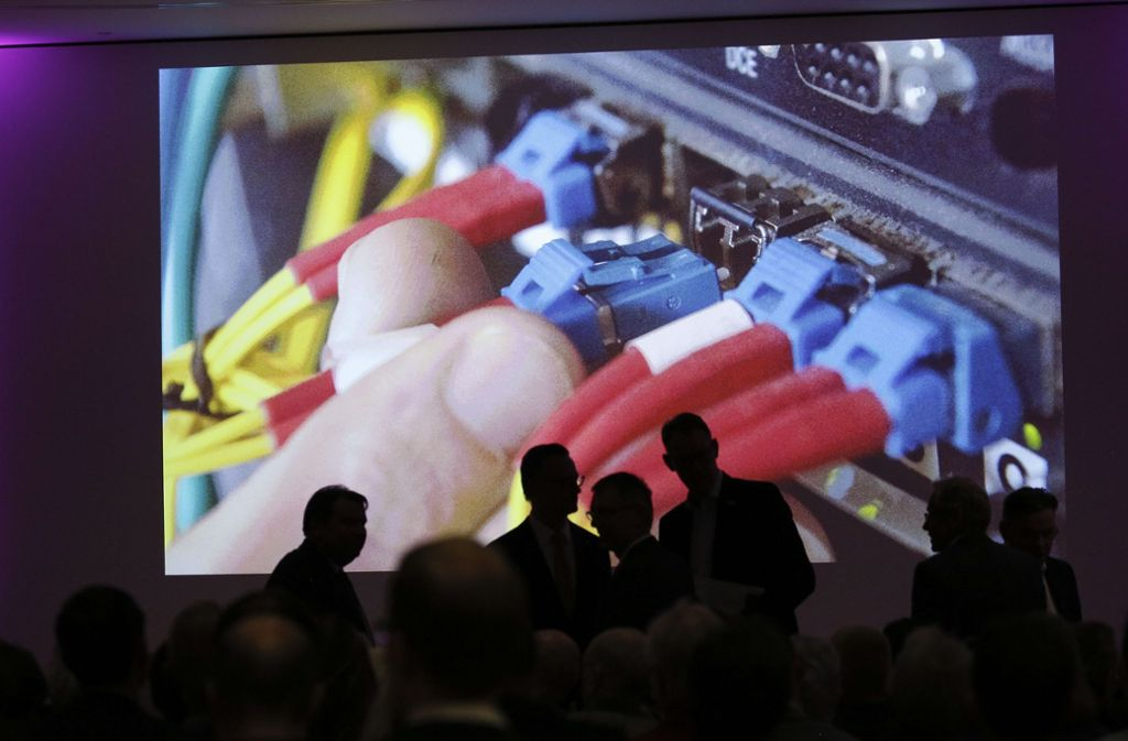 Die Schnelligkeit der Datenübertragung ist ein Thema, das die Zuhörer der Podiumsdiskussion und die Leser der Stuttgarter Zeitung im Alltag beschäftigt. Foto: Lichtgut/Leif Piechowski