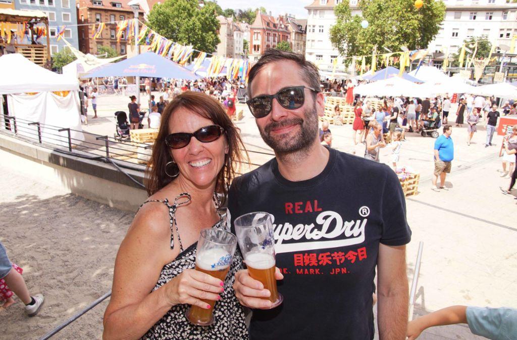 Der typische Marienplatzfest-Besucher ist keine Anfang zwanzig mehr. Foto: Andreas Rosar Fotoagentur-Stuttg