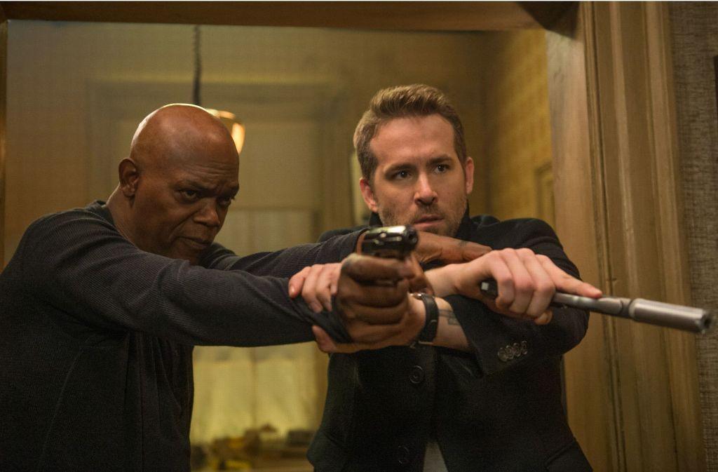 Samuel L. Jackson (links) und Ryan Reynolds Foto: 20th Century Fox