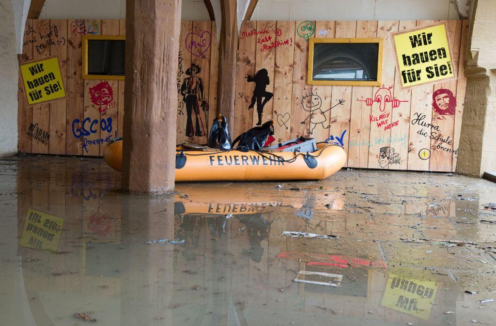 Goslar hat die schlimmste Überschwemmung seit Jahrzehnten erlebt. Foto: dpa