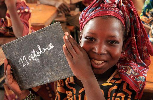 62 Millionen Mädchen dürfen nicht zur Schule gehen