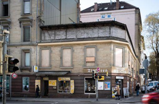 Stuttgarts letzte Kriegsruine steht in West