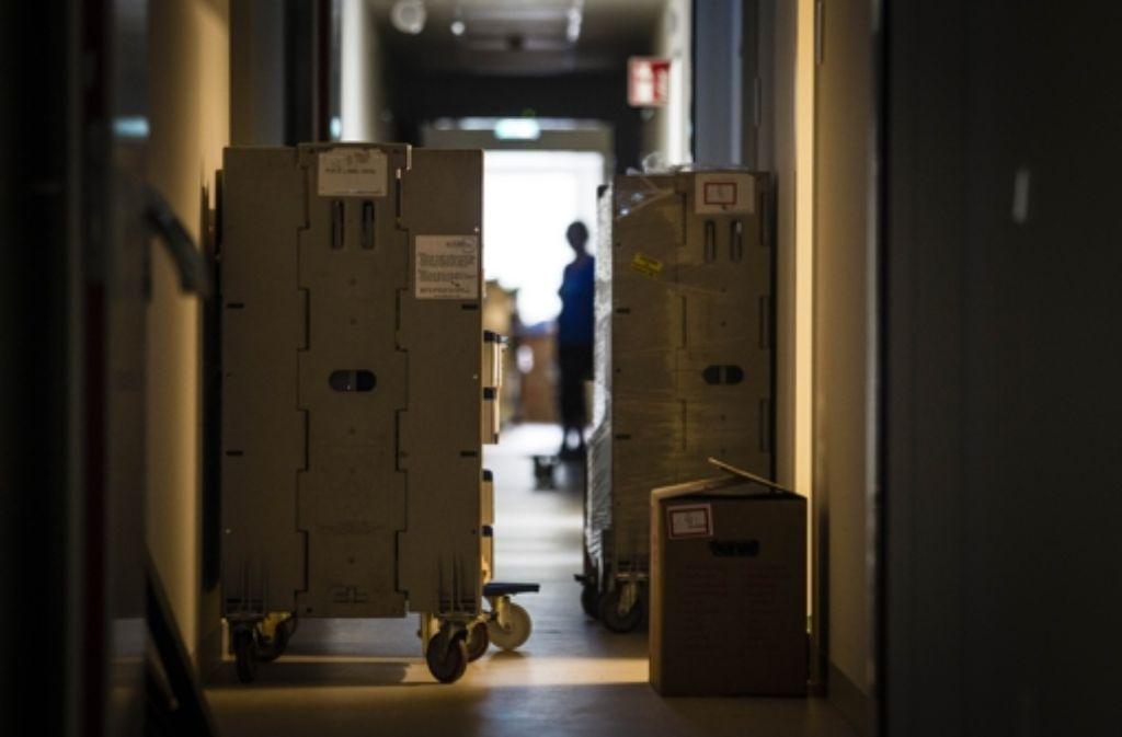 Der Umzug ist bewältigt, die Kartons müssen noch ausgeräumt werden. Foto: Lichtgut/Leif Piechowski