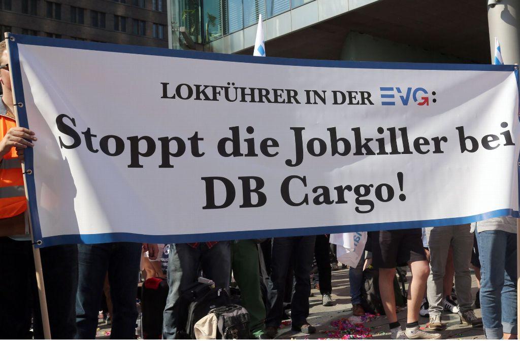 Die Sparpläne der Bahn waren bei Arbeitnehmern auf harten Widerstand gestoßen. Foto: dpa