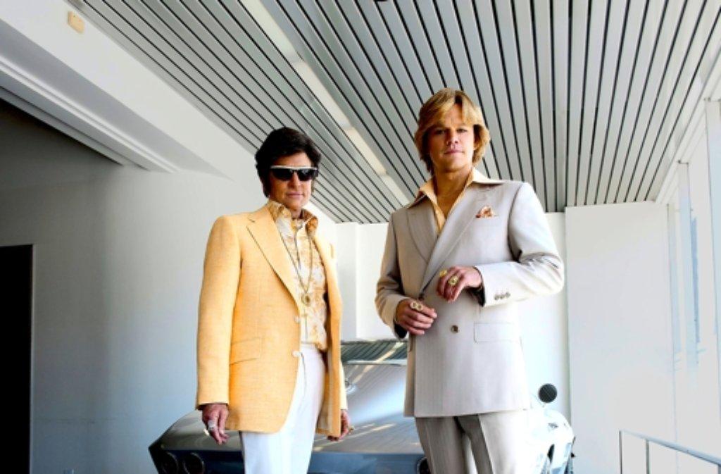 Michael Douglas (links) als Liberace und Matt Damon als sein Adlatus Foto: Festival