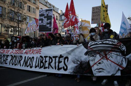 Hunderttausende gehen in Frankreich auf die Straße