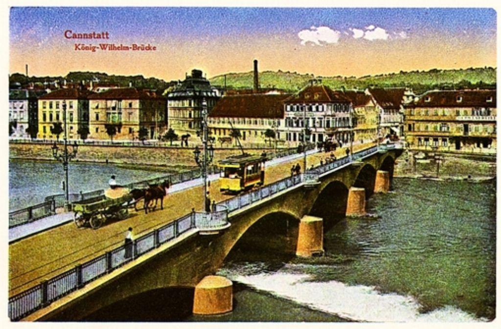 Pferdekutsche und Straßenbahn: so zeigt eine Postkarte von 1910 Foto: privat